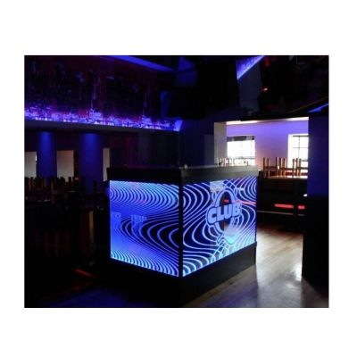 Curved design,LED bar,small reception