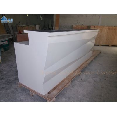 Curved design,LED bar,diamond design,pure white finishing